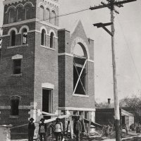FBC Building during Construction in 1909